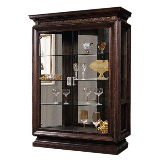 Шкаф с витриной ГМ 5358Е