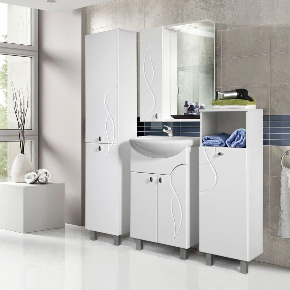 Набор мебели для ванной комнаты коллекции «Флора-1»