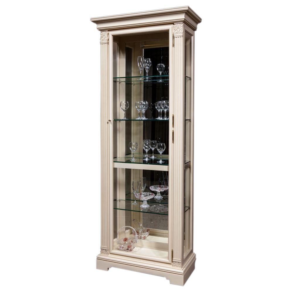 Шкаф с витриной (левый) ГМ 5901Е-02