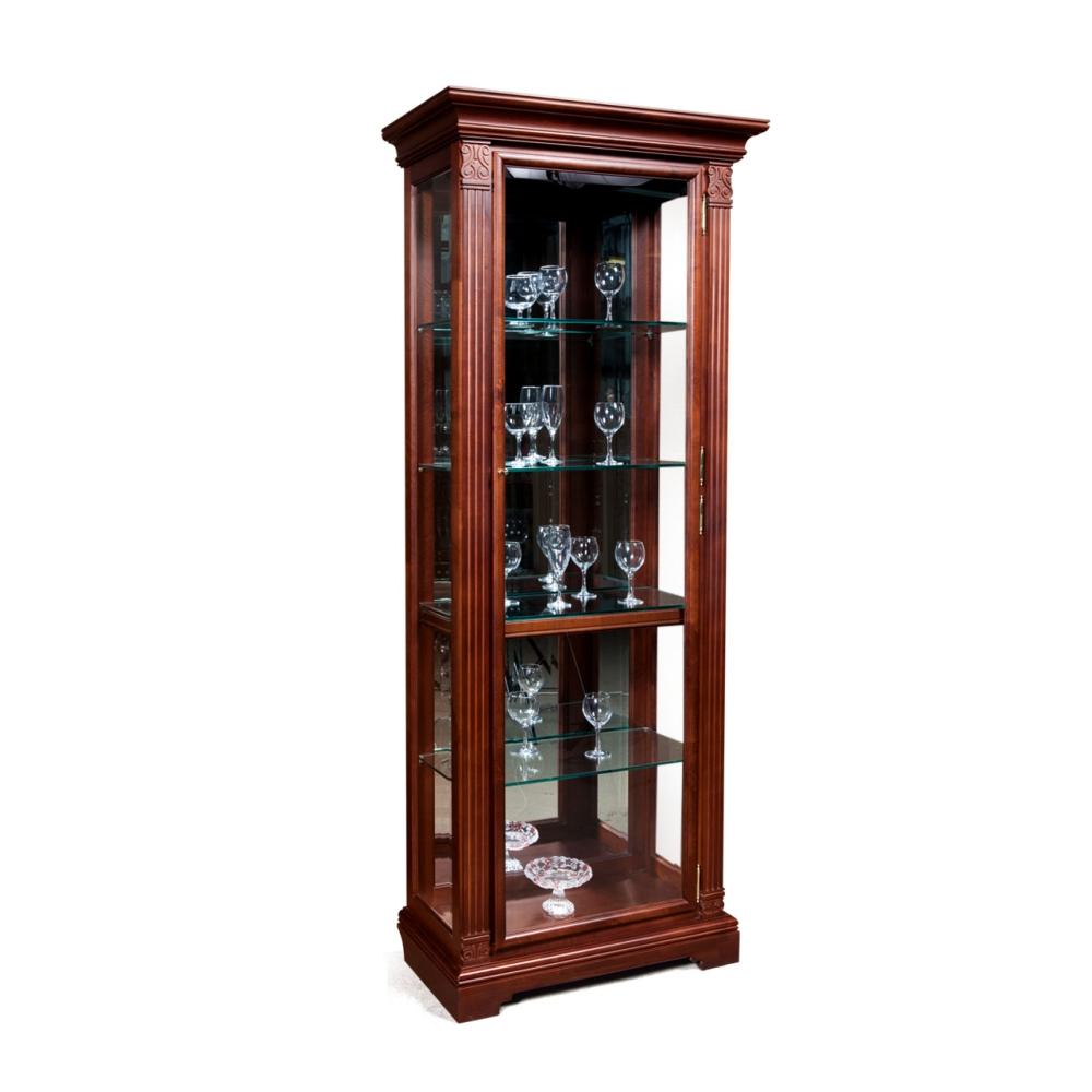 Шкаф с витриной (правый) ГМ 5901Е