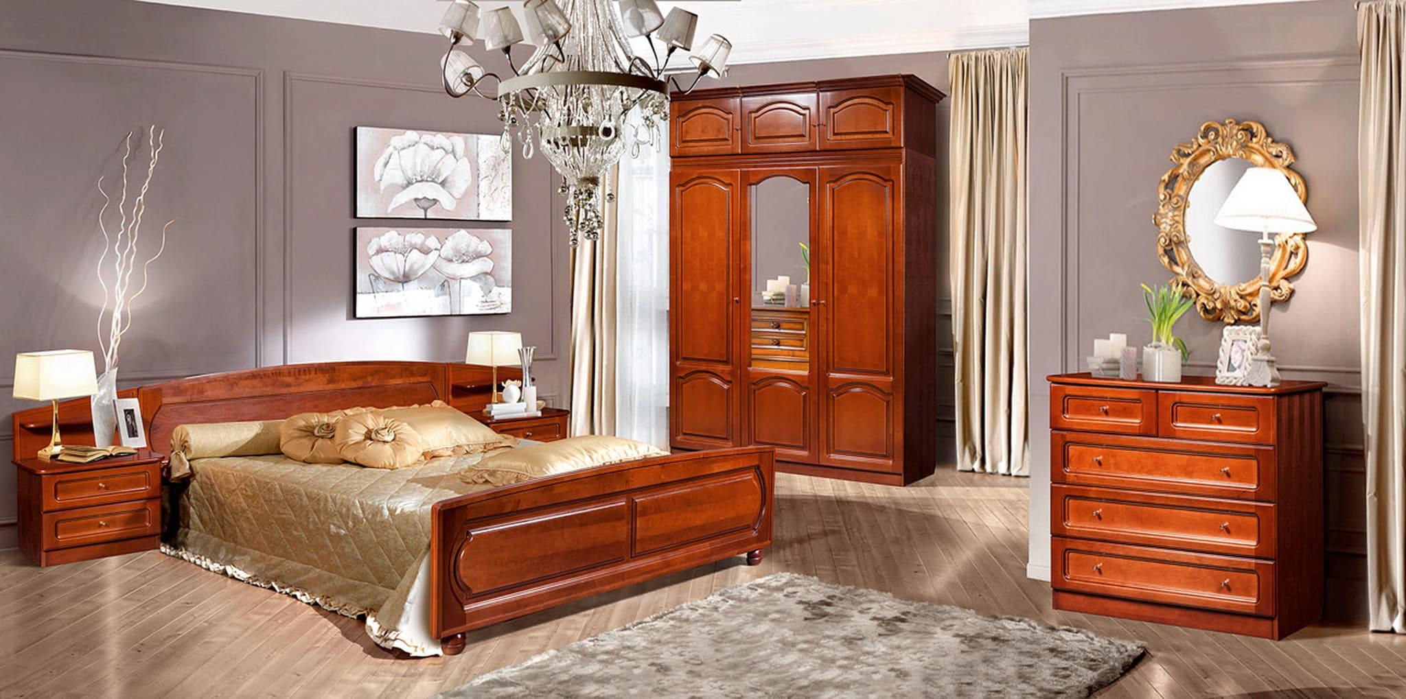 Набор мебели для спальни «Купава-3» ГМ 8420-02 (дуб)