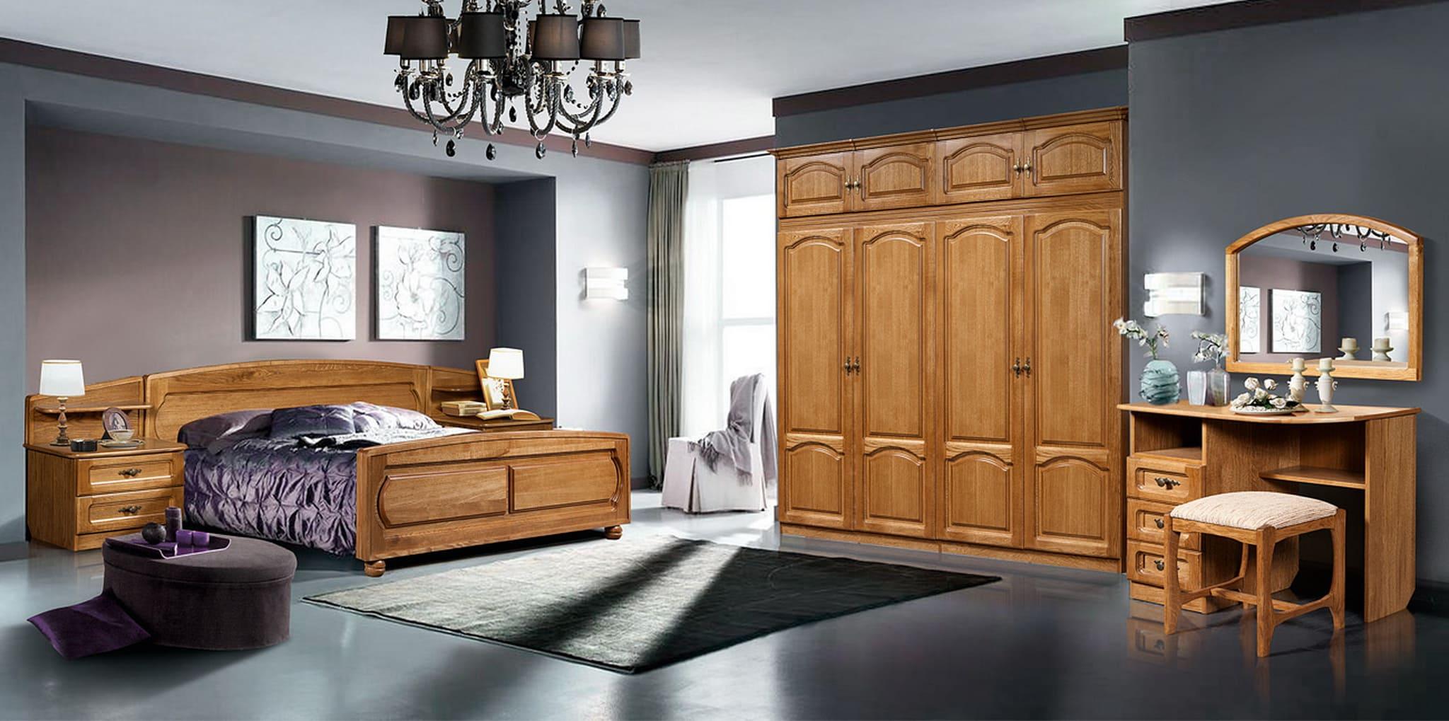 Набор мебели для спальни «Купава-1» ГМ 8420 (дуб)