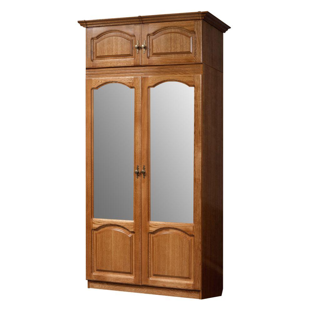 Шкаф для платья и белья ГМ 8422-01