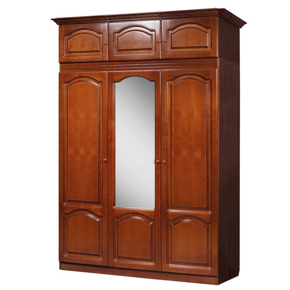 Шкаф для платья и белья ГМ 8427-01 (дуб)