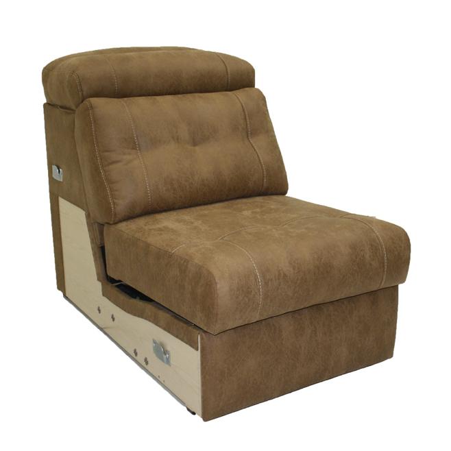 Секция-реклайнер одноместного дивана углового раскладного ГМФ 463-02,00;