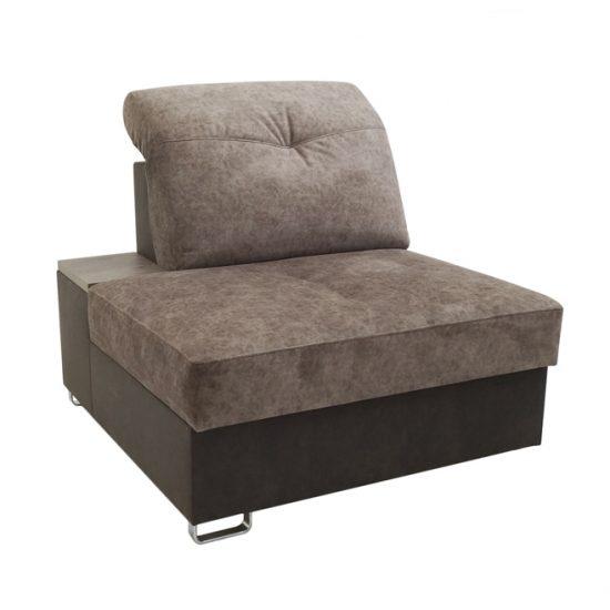 Секция приставная дивана углового раскладного «Атланта» ГМФ 492-58.00; 2