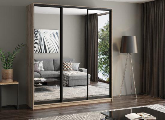 5 Причин выбрать шкаф-купе с зеркалами